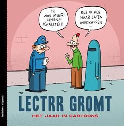 Lectrr gromt -het jaar in cartoons Lectrr