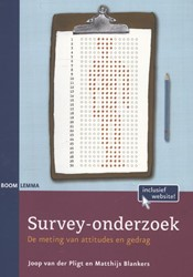 Survey-onderzoek -de meting van attitudes en ged rag Pligt, Joop van der