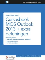 Cursusboek MOS Outlook 2016 en 2013 + ex -+ extra oefeningen Studio Visual Steps