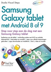 Samsung Galaxy tablet met Android 8 of 9 -stap voor stap aan de slag met een Samsung Galaxy tablet Studio Visual Steps