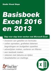 Basisboek Excel 2016 en 2013 Studio Visual Steps