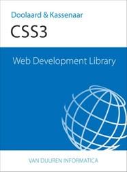 Web Development Library WDL: CSS 3 Doolaard, Peter