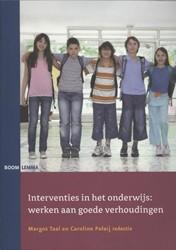 Interventies in het onderwijs -werken aan goede verhoudingen