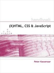 HANDBOEK (X)HTML, CSS EN JAVASCRIPT KASSENAAR, P.
