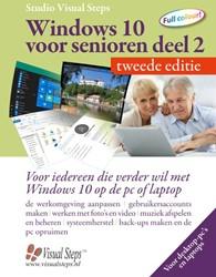 Windows 10 voor senioren deel 2 - tweede -voor iedereen die verder wil m et Windows 10 op de pc of lapt Studio Visual Steps