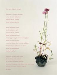 Poezieposter Plint 'Voor een dag va -Voor een dag van morgen Wannee r ik morgen doodga, vertel dan Andreus, Hans