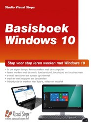 Basisboek Windows 10 -stap voor stap leren werken me t Windows 10 Studio Visual Steps