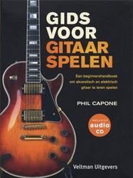 Gids voor gitaarspelen -een beginnershandboek om akoes tisch en elektrisch gitaar te Capone, P.