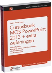 Cursusboek MOS PowerPoint 2013 + extra o Studio Visual Steps