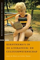 Kernthema's in de literatuur- en cu Bloois, Joost de