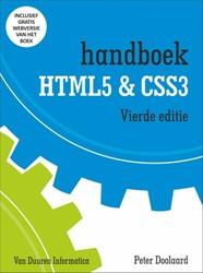 Handboek HTML5 en CSS3 Doolaard, Peter