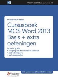 Cursusboek MOS Word 2016 en 2013 + oefen Studio Visual Steps