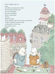 Plint poezieposter Vogels van Edward van Vendel, Edward van der