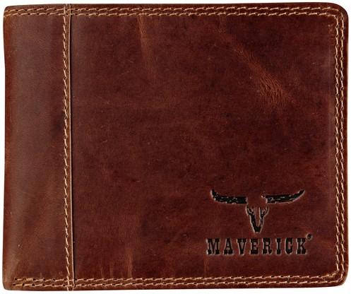 PORTEMONNEE MAVERICK DALIAN LEER -BRANCHE VERWANT MA-480.702-33