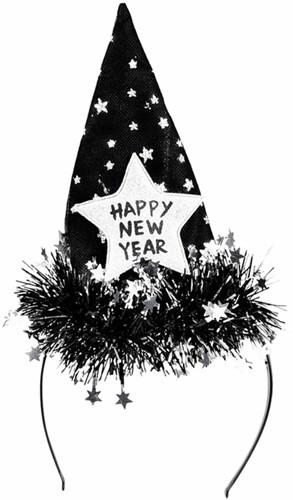 TIARA STARLET HAPPY NEW YEAR -FEESTARTIKELEN 13451