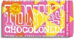 TONY'S CHOCOLONELY BLOND 28% PECAN -PREMIUM NLRSBKP180 180GR