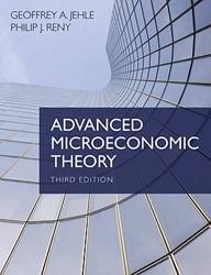 Advanced Microeconomic Theory Jehle, Geoffrey