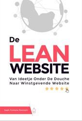 De Lean Website -van ideetje onder de douche na ar winstgevende website Fontane Pennock, Seph