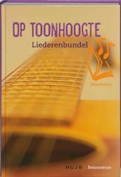 Op Toonhoogte -liederenbundel muziekeditie ee nstemmige zetting met gitaarak