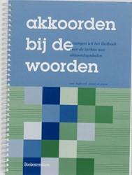 Akkoorden bij woorden -gezangen uit het Liedboek voor de kerken met akkoordsymbolen