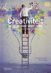 Creativiteit krijg je niet voor niets -de psychologie van creativitei t in werk en wetenschap Dreu, Carsten De