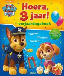 Paw Patrol Hoera, 3 jaar! Verjaardag -Spelen! Kleuren! Plakk herbruikbare stickers