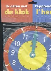 Ik oefen met de klok -DAG/VRIENDEN/STICKERBOEKEN 611352