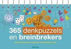 365 denkpuzzels en breinbrekers -Hou je hersenen in topvorm, he t hele jaar door!