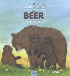 Wilde dieren in de natuur. De beer Renne