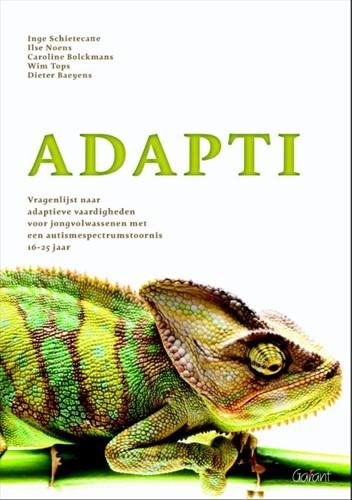 Adapti -vragenlijst naar adaptieve vaa rdigheden voor jongvolwassenen Schiettecatte, Inge