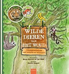 Wilde dieren van het woud -dierenprentenboek met verhalen en informatie Arnoldussen, Lucas