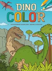 Dino Color kleurblok / Dino Color Bloc d -Uitscheurbare kleurplaten