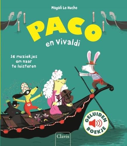 Paco en Vivaldi ( geluidenboek) Huche, Magali Le