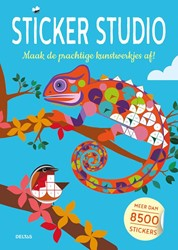 Sticker studio -Maak de prachtige kunstwerkjes af! - Meer dan 8500 sticke