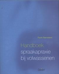 Handboek spraakapraxie bij volwassenen Paemeleire, Frank
