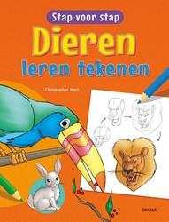 Stap voor stap dieren leren tekenen Hart, Christopher