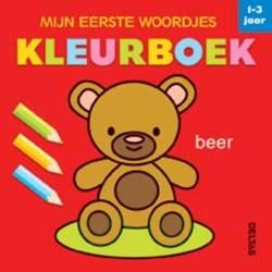 Mijn eerste woordjes kleurboek -KLEURBOEKEN 0690813 JAAR