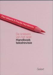De knikkers van het spel -handboek tekstrevisie Gillaerts, Paul