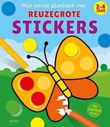 Mijn eerste plakboek met reuzegrote stic -Met herbruikbare stickers ZNU