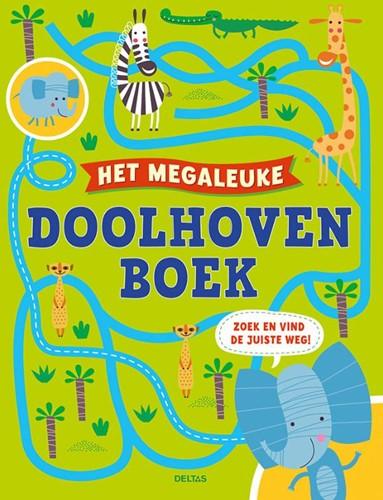 Het megaleuke doolhovenboek -Zoek en vind de juiste weg!