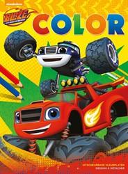 Blaze and The Monster Machines Color -Uitscheurbare kleurplaten