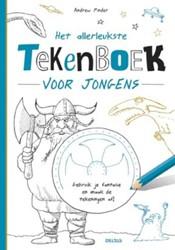 Het allerleukste tekenboek voor jongens -KLEURBOEKEN 690680 Pinder, Andrew