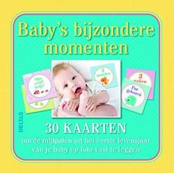 Baby's bijzondere momenten - 30 kaa -om de mijlpalen uit het eerste levensjaar van je baby op fot ZNU