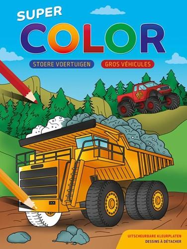 Stoere voertuigen / Super Color bloc de -Super Color kleurblok ZNU