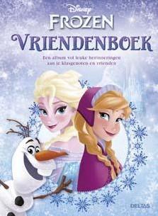 Frozen vriendenboek -D21042 521042