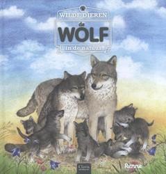 Wilde dieren in de natuur. De wolf Renne