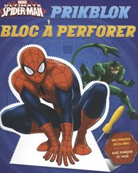 Ultimate Spider-man prikblok / bloc a pe -met prikpen en viltmat / avec poincon et tapis