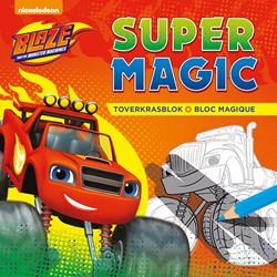 Blaze and The Monster Machines Super Mag -Toverkrasblok - bloc magique