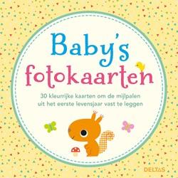 Baby's fotokaarten -30 kleurrijke kaarten om de mi jlpalen uit het eerste levensj ZNU