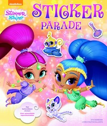 Shimmer and Shine Sticker Parade -met herbruikbare stickers; ave c autocollants repostionnables